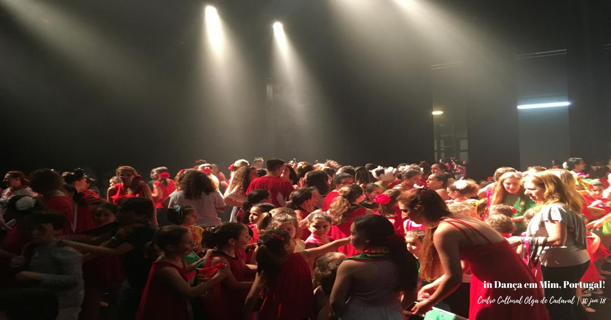 in Dança em Mim, Portugal!